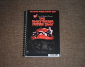 The Rocky Horror Picture Show Upcycled / Recycled DVD Movie Cover Bound NOTEBOOK