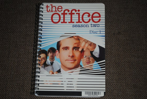 THE OFFICE Upcycled / Recycled TV Series Notebook / Sketchbook ( Choice of Cover )