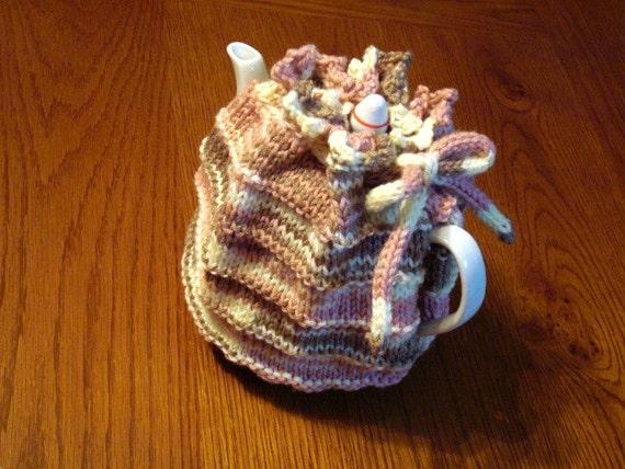 Hand Knit Traditional Tea Cozy Handknit Teapot Cosy 4 Cup Teapot 6 Cup Teapot Hot Tea Teapot Cover Cozies for Teapots