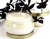 Hand Poured Soy Candle - White Tea and Ginger 6 oz