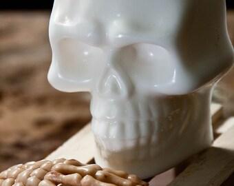 Handmade Shea Butter Soap - Halloween Soap - Skull Soap