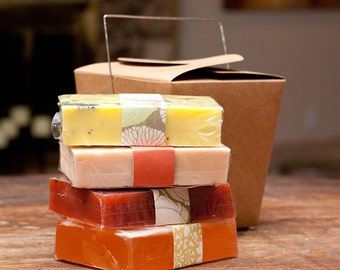 Chinese Take-Out 4 Soap Gift Set