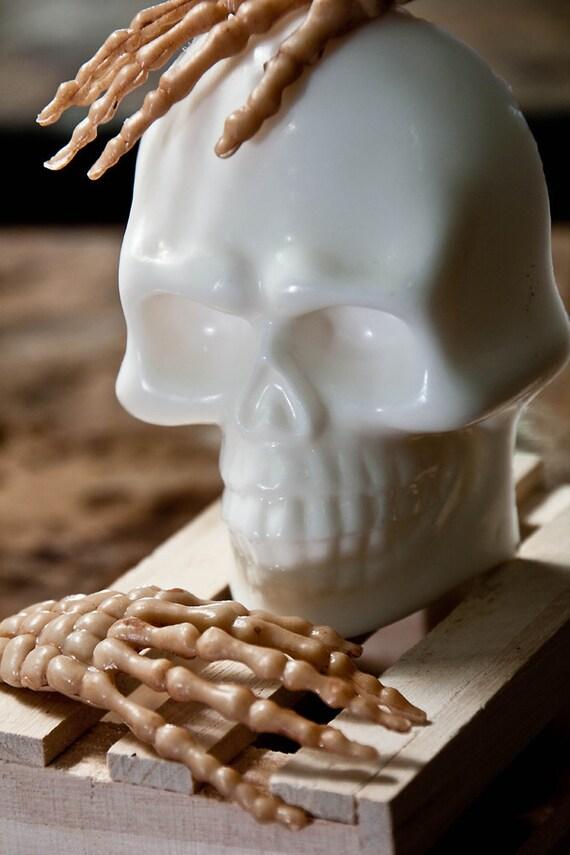 Halloween Soap - Skull Soap - Handmade Shea Butter Soap