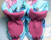Asparas Dreams Baby Bootie Pattern, Includes 5 sizes Preemie to 12 months, Instant Download, PDF