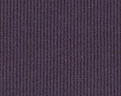 BLACKBERRY 2x1 RIBBING, Cotton Lycra blend, Fat Eighth, 9 x 21 inches