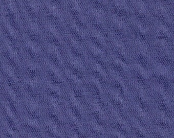 ROYAL BLUE RIBBING,1x1 Cotton Lycra blend, Fat Eighth, 9 x 21 inches