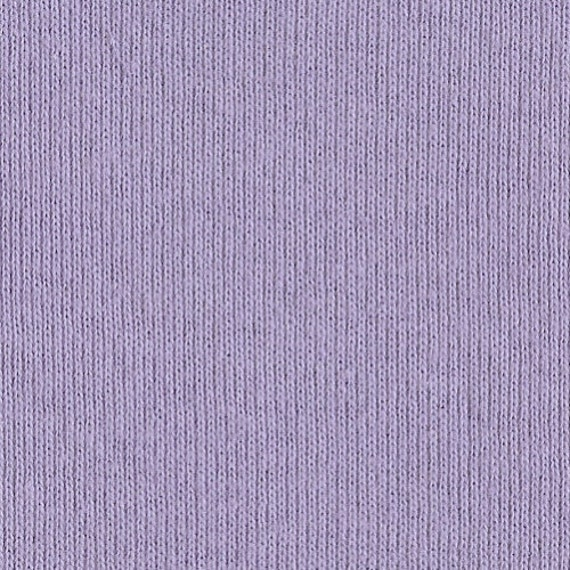 LAVENDER 1x1 RIBBING, Cotton, Fat Eighth, 9 x 20 inches