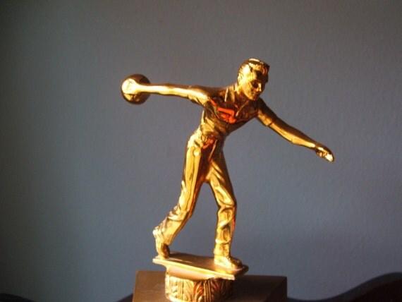 Vintage Mid Mod 1959-1960 Bowling Trophy