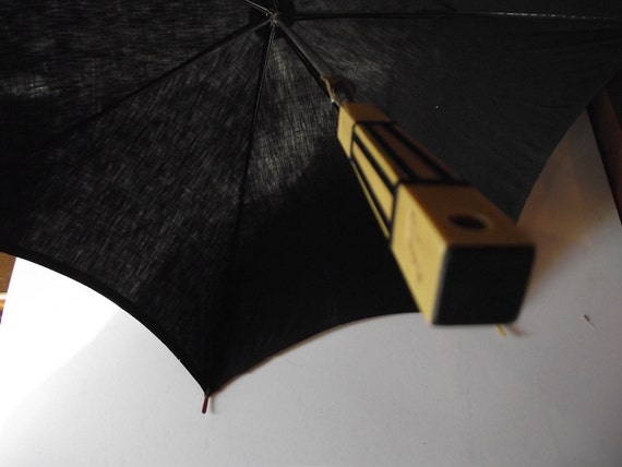 Vintage Art Deco Bakelite Celluloid Umbrella