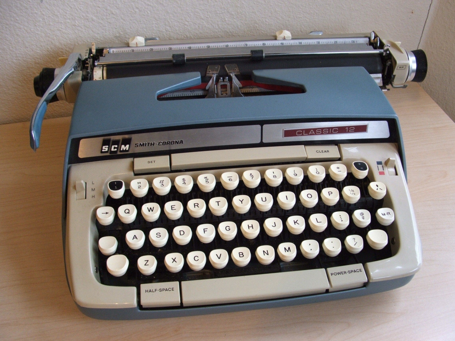 Smith Corona Classic 12 Typewriter By Theclassicbutterfly