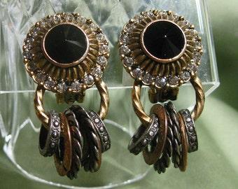 Vintage Bijoux Chunky Fun Earrings Must Have
