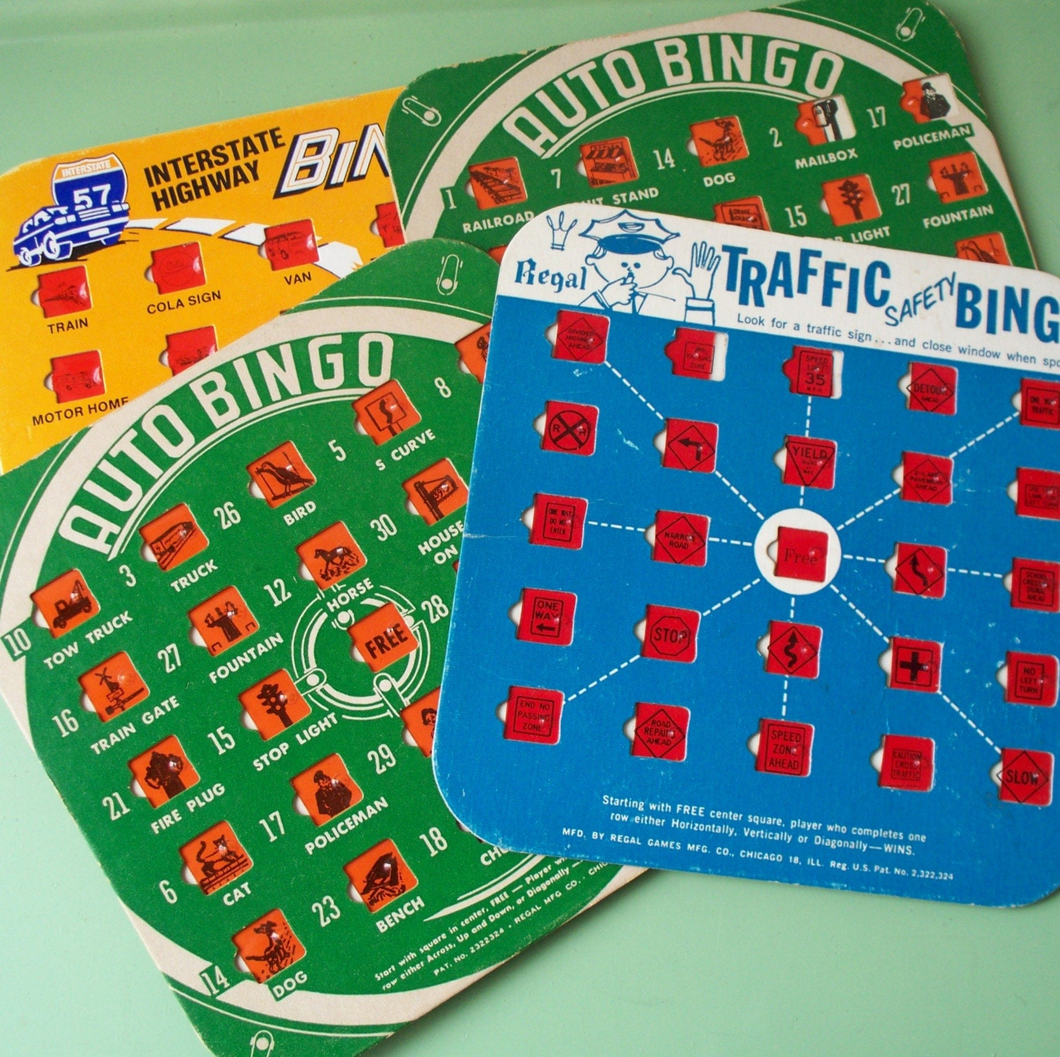 It's just a photo of Sly Car Bingo Cards