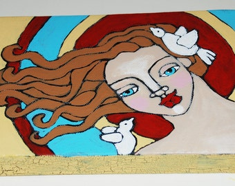 Original Folk Art Painting