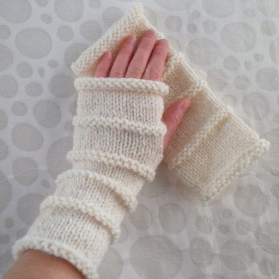 KNITTING PATTERN/ OSLO/ Fingerless Gloves for Men/Boys Quick
