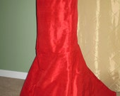 fitted trumpet skirt