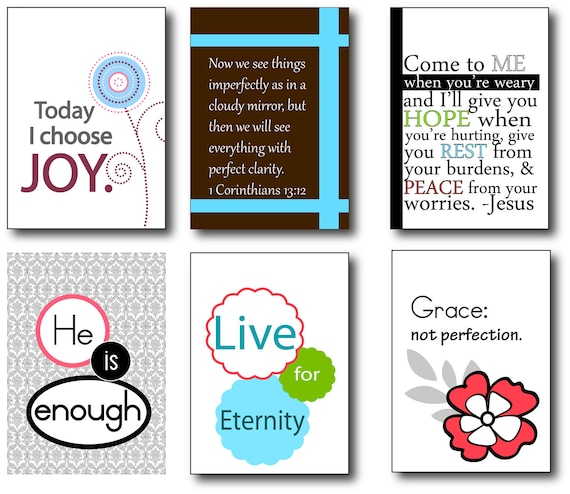 Scripture and encouragement for your mirror (Set 4). Includes suction hook. Start and end your day right.