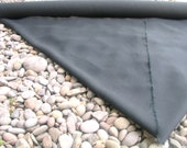 HEMP CANVAS by the YARD Black or Undyed Natural Heavy Weight
