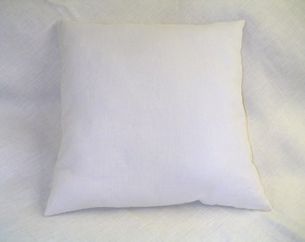 THROW PILLOW Pair Wool Hemp Organic Cotton Many Sizes Made In USA