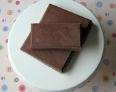 Chocolate orange truffle soap