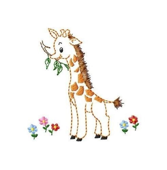 BABY ANIMALS Set 2 Machine Embroidery Designs