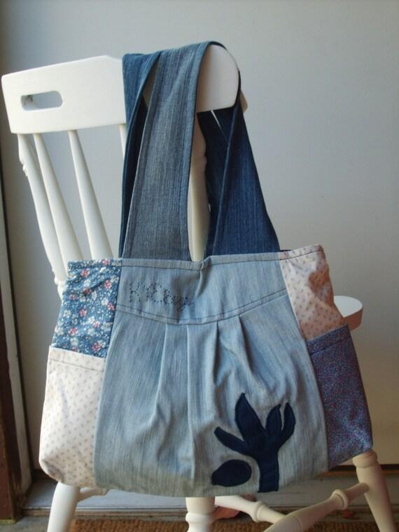 ON SALE- Blue Jean Girl Handbag