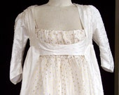 Custom Made Regency Robe Pelisse
