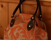 Fidela Bag - Orange Damask