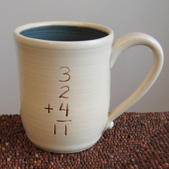 Incorrect Math Mug in Denim Blue 16 oz.