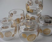 Get the Party Started Barware Vintage Glasses Set of 6