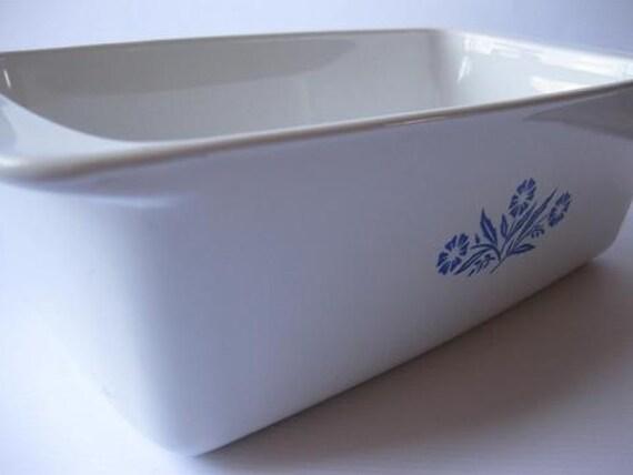 Vintage Corning Ware Cornflower Blue 2 Qt Loaf Pan