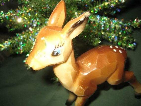 Christmas Vintage Deer