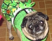 SHAMROCKS and LEPRECHAUNS Skirtter - 2 to 20 lb dogs-Boys matching sweater also available
