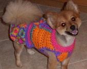 ITS PARTY TIME dog skirt-ter - Fun Fun Fun - 2 - 20 lb dogs - Made to order