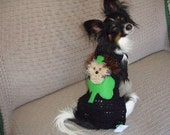 FUZZY WUZ a LEPRECHAUN dog sweater - 2 to 20 lbs - Made to Order -St Pats