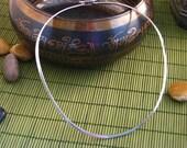 BOGO SALE Sterling Silver Wire Choker