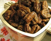Sweet Spicy Pecans, RESERVED for themagpiesdaughter