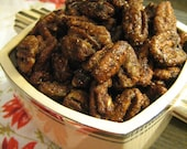 Sweet Spicy Pecans, Yummy Holiday Snack, Hostess Gift, One Pound Bag