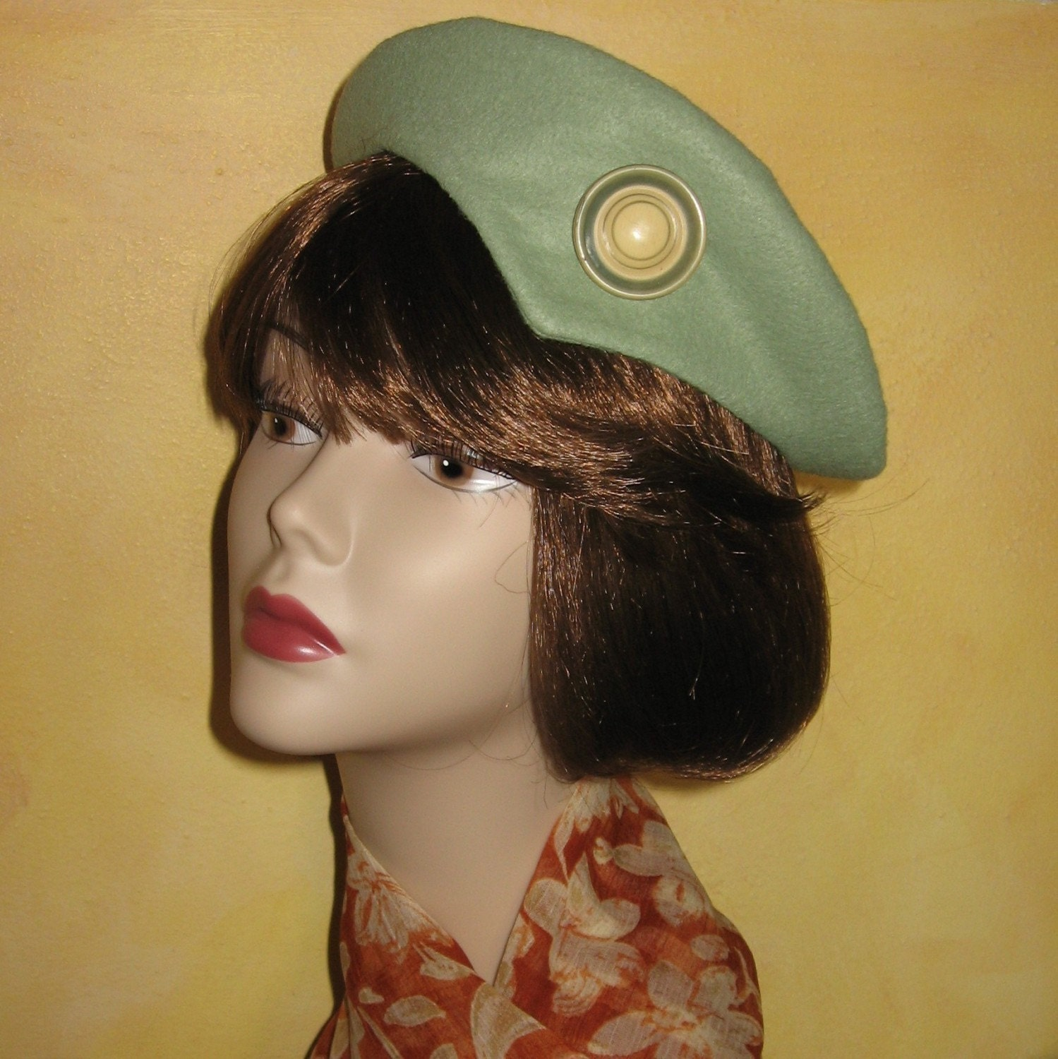 1940s womens vintage hat beret pattern womens topper style