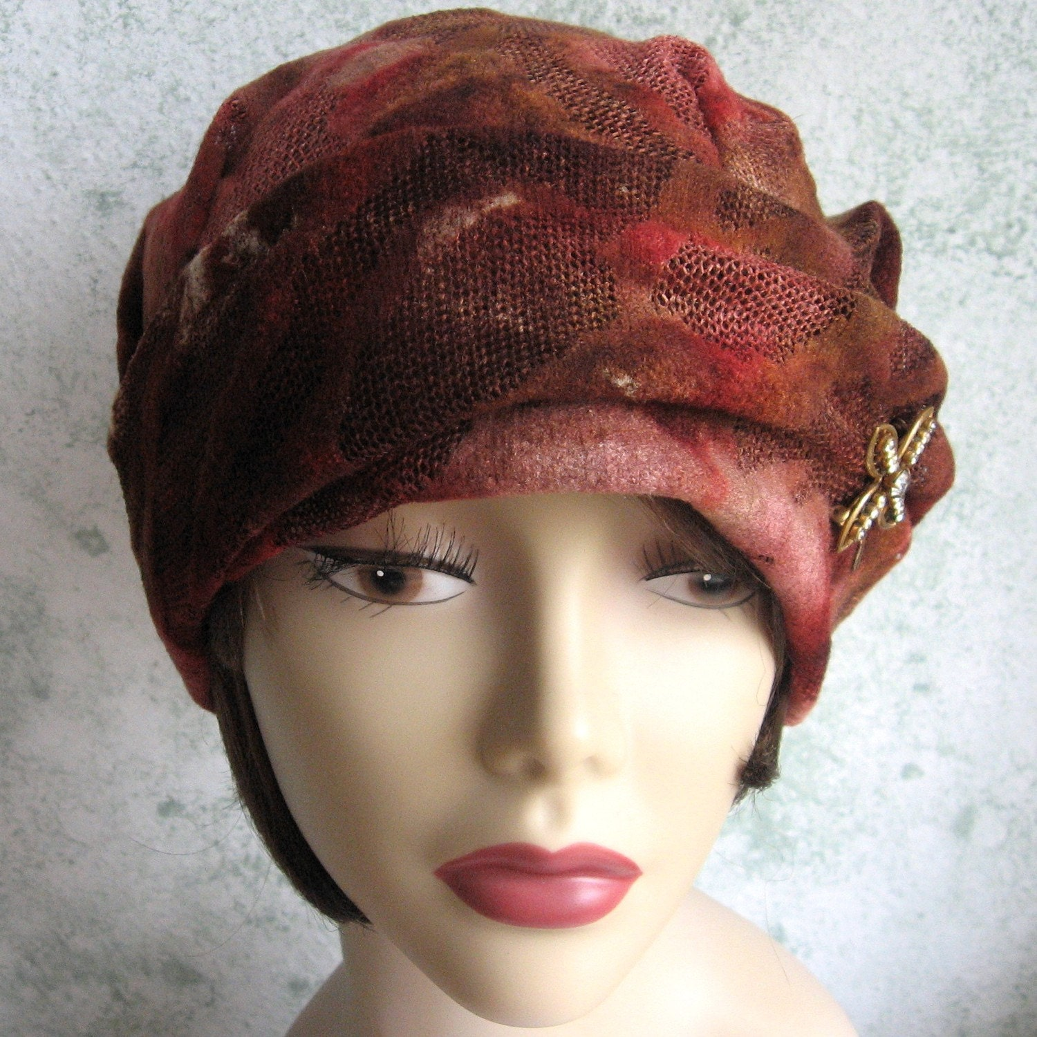 womens vintage flapper hat pattern circa 1920s easy to make