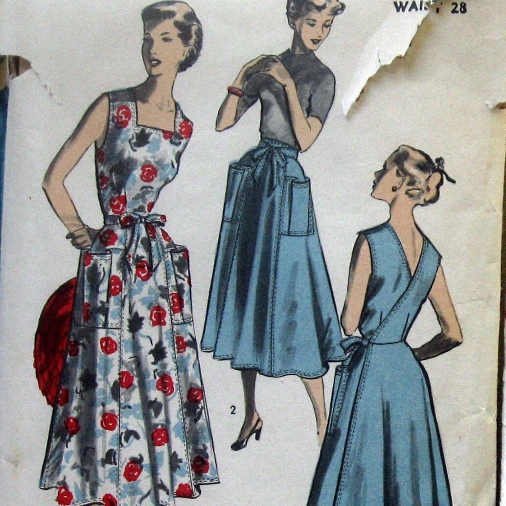 Back Wrap Dress Pattern