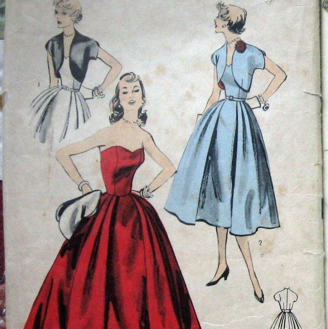 Strapless Dress Pattern