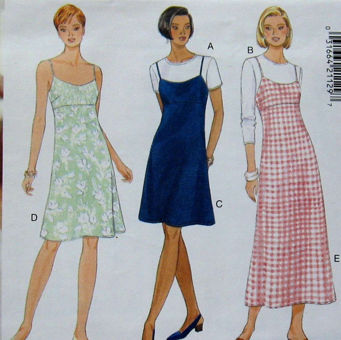 Excellent Maxi Dress Vintage Pattern  Womens Dress Pattern  Misses Maxi Dress
