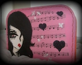 kiss of death valise... SALE