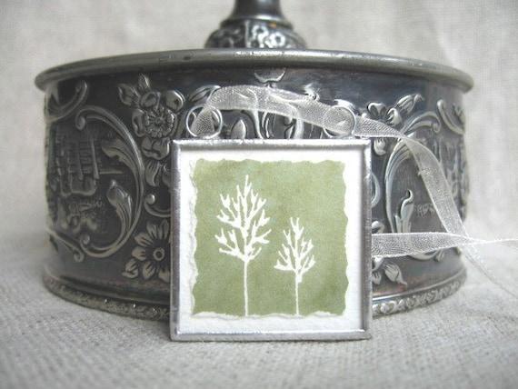 watercolor ornament