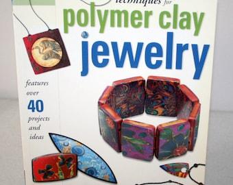 Book Polymer Clay Jewelry