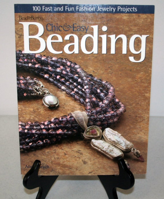 """Book Bead and Button """"Chic and Easy Beading"""""""