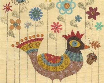 Abigail the Bird Print 8.5 x 11