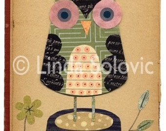 Spike the Owl Print