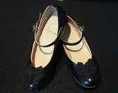 Vintage Girls Patent Leather Shoes
