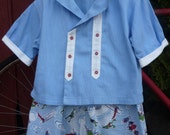 Toddler Boy - Girl Cotton Shirt and Shorts